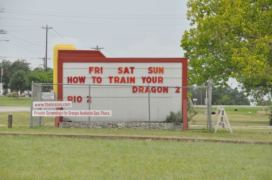 Brazos Drive-in : What's showing this week end at the Brazos