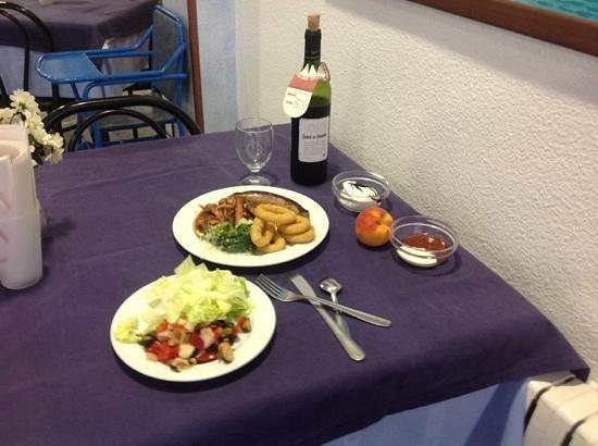 ALEGRIA San Juan Park: обычный ужин