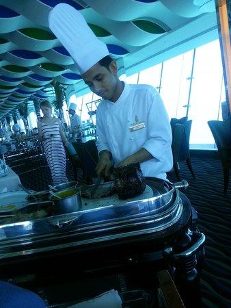 Burj Al Arab Jumeirah: buen servicio