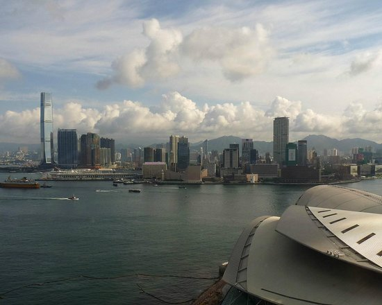 Grand Hyatt Hong Kong: What a view to wake up to in Hong Kong.