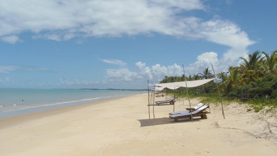 Vila Naiá: Beach Cabanas