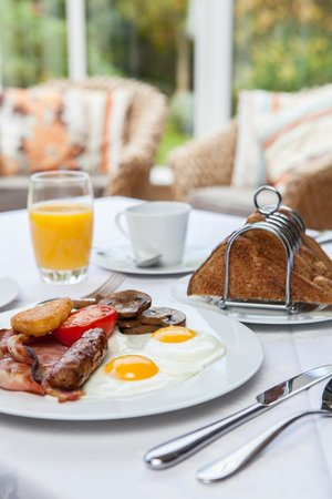 Harwood House: Delicious locally sourced breakfast