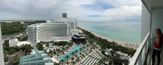 Fontainebleau Miami Beach: Panoramic view from room