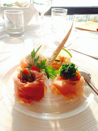 La Voglia: Vorspeise/Starter - Mixed Fish