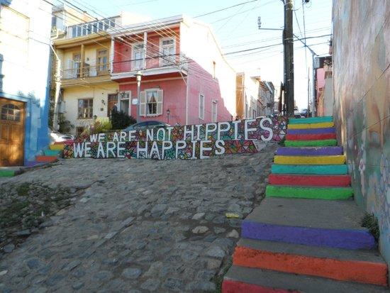 Historic Quarter of the Seaport City of Valparaiso : Ruas charmosas