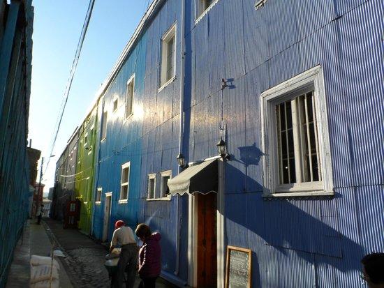Historic Quarter of the Seaport City of Valparaiso : Casa Típica 1