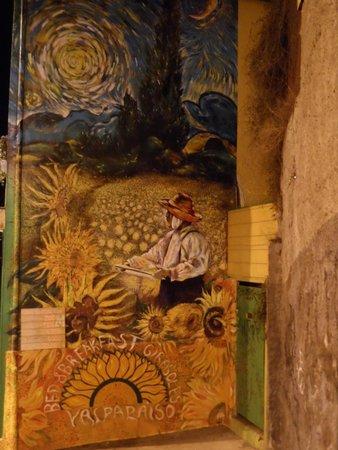 Historic Quarter of the Seaport City of Valparaiso : Pinturas nas casas 2