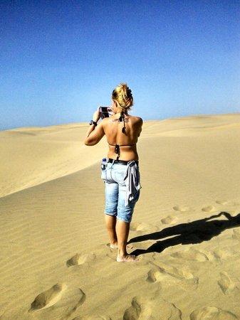 Dunas de Maspalomas: Maspaloma desert walk...