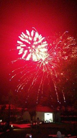 Sherwood Breezes Resort : Gala night fireworks