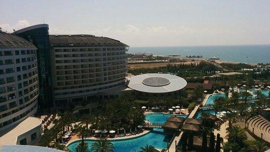 Sherwood Breezes Resort : Room balcony view