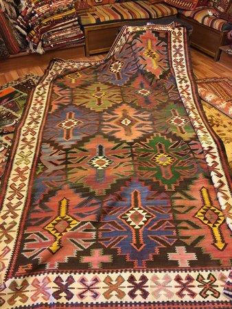Kervan Carpet & Kilim: Our rug at the shop