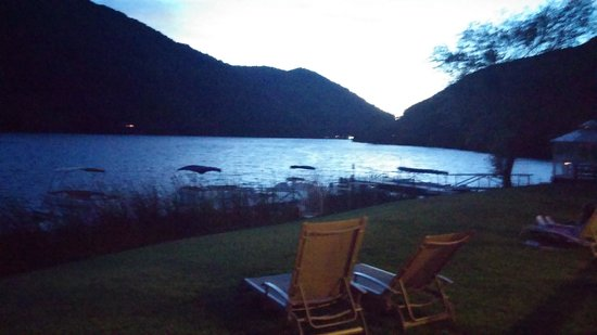 The Lodge at Blue Lakes: sunset