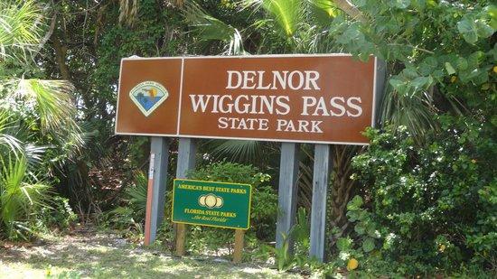 Delnor-Wiggins Pass State Park: Entrada do Parque