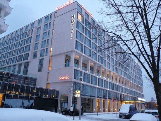 Scandic Berlin Potsdamer Platz: Außenansicht