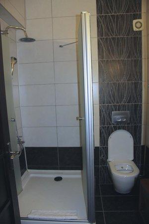 Ephesus Suites Hotel: Good shower