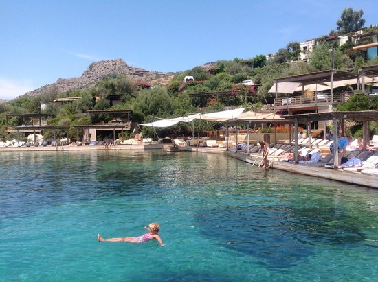 Macakizi Hotel Bodrum: Beach