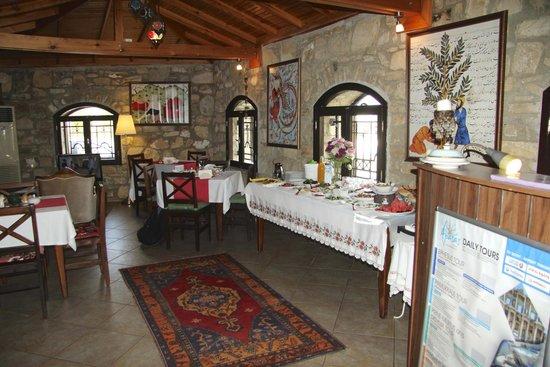 Ephesus Suites Hotel: Lobby/dining area