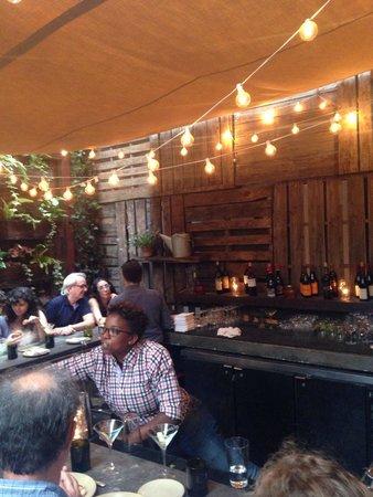 Talula's Garden: Outdoor bar