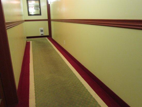 Hotel A2K: ein zu langer Gang zum Zimmer