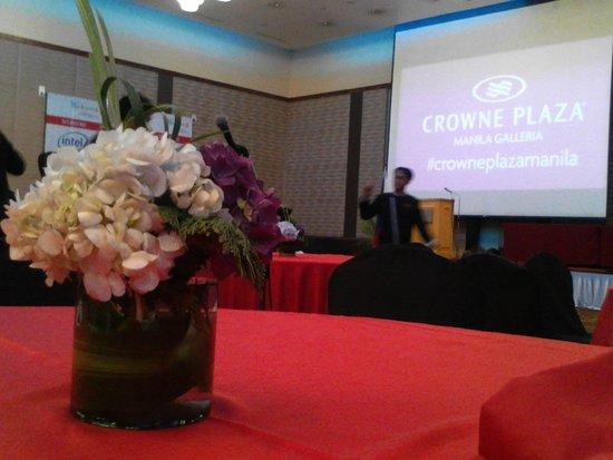 Crowne Plaza Manila Galleria: Grand Ballroom
