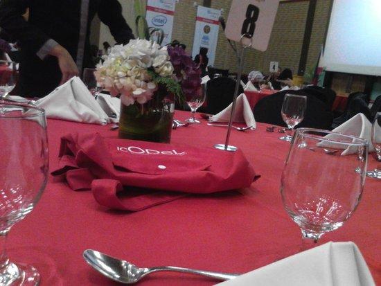 Crowne Plaza Manila Galleria: Grand Ballroom (Dinner)