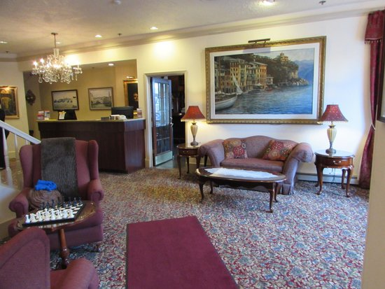 Historic Anchorage Hotel : Attractive lobby