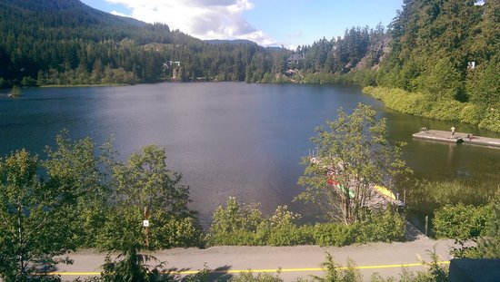Nita Lake Lodge: View From Hotel Room