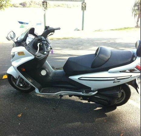 Caribbean Noosa: SYM bike