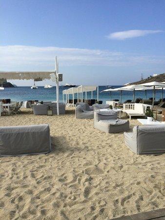 Mykonos Ammos Hotel: the beach