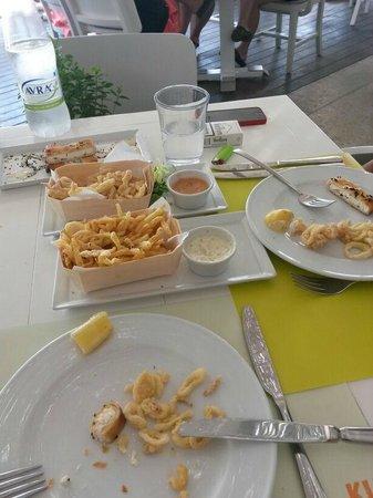 Mykonos Ammos Hotel: lunch