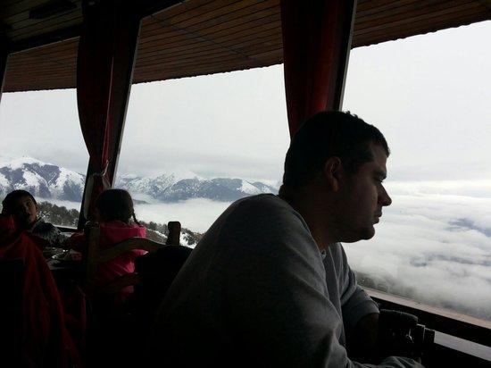 Cerro Otto: Sobre as nuvens
