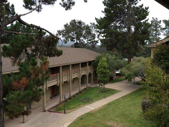 Comfort Inn Monterey Peninsula Airport: The view from my Balcony