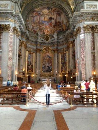 Chiesa di Sant'Ignazio di Loyola: Simply awe-inspiring architecture