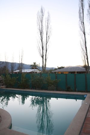 Posada Colchagua: Vista da piscina