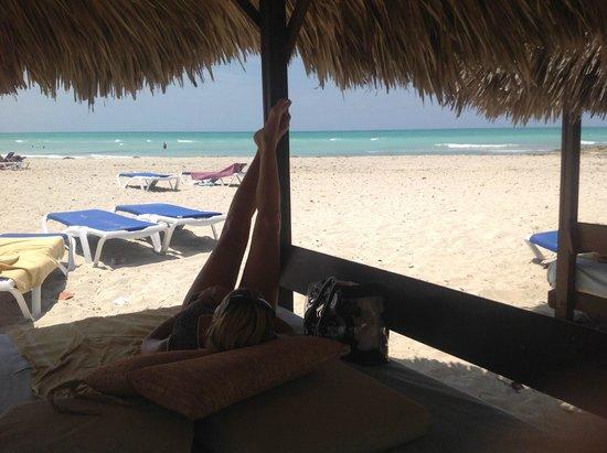Paradisus Varadero Resort & Spa: Camastro disfrutado solo 3 dias