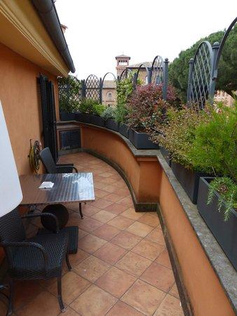 Hotel San Anselmo: Large Balcony (Manhattan e Bramante)
