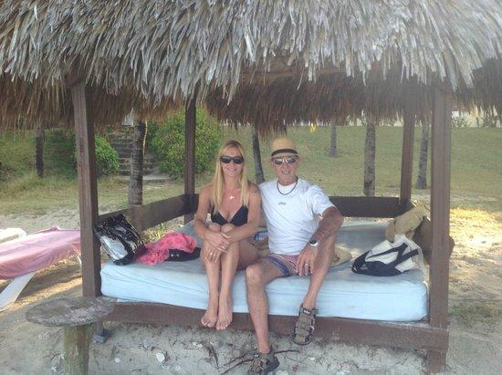 Paradisus Varadero Resort & Spa: Camastros que eran del servicio real