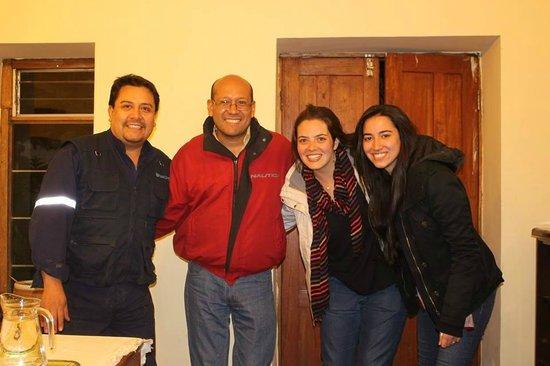 Kukuli Lodge: Obrigada, Marco e Ronald