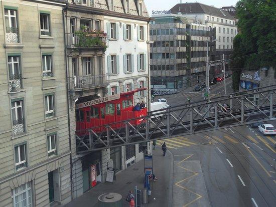 Hotel du Theatre by Fassbind: View