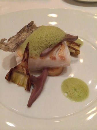The Grill at The Dorchester: Poached cod