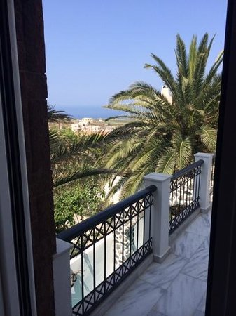Galatia Villas: view from the room