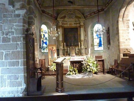 Abbaye du Mont-Saint-Michel : Chapel of St. Peter