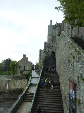 Abbaye du Mont-Saint-Michel : More steps to climb