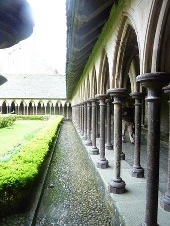 Abbaye du Mont-Saint-Michel : 13th century Cloisters