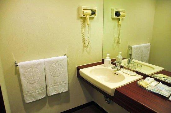 Okinawa Zanpamisaki Royal Hotel : アロマフレグランスルームの洗面所