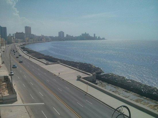 La vista desde Casa Malecón Habana