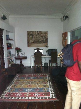 Gallery Hostel: Computer room
