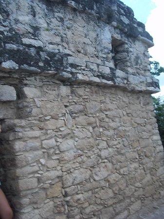 Ruines de Cobá : Piramide