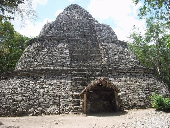 Ruines de Cobá : Observatorio