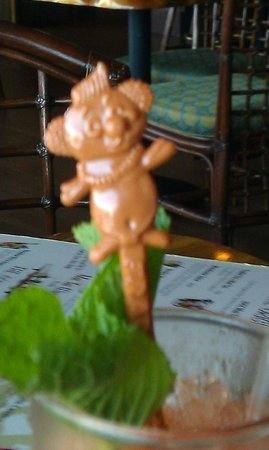 Trader Vic's: Cute swizzle sticks